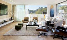 Home Design Ideas Mid-century modern Los Angeles Apartment