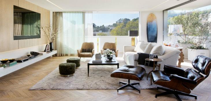 Home design ideas mid century modern los angeles apartment for Modern home decor los angeles