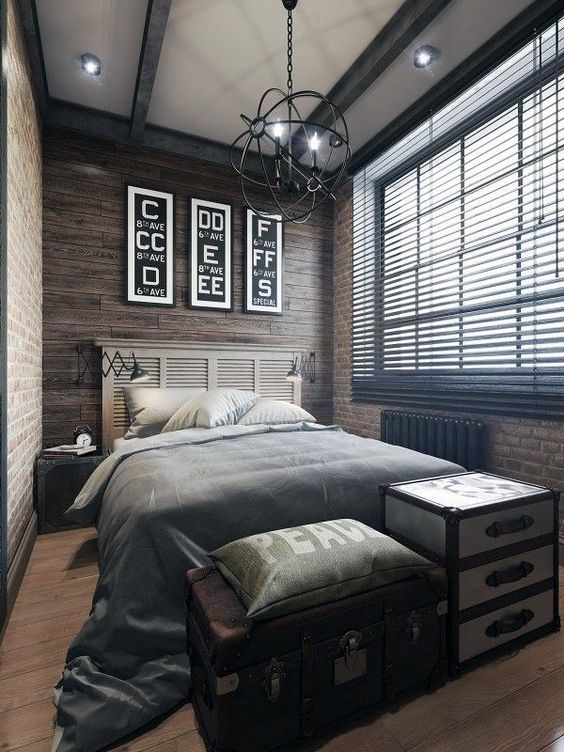 8 Masculine Design Ideas To Get Right Now Bedroom