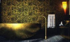 10 Best Golden Aesthetics for Your Bathroom Design bathroom design 10 Best Golden Aesthetics for Your Bathroom Design featured 14 234x141