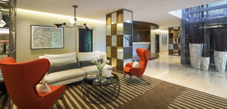 featured mid-century modern Inspiring Mid-century modern Park Apartment Hotel by Katz featured 6
