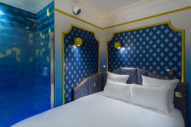 Idol Hotel: oasis in the heart of Paris mid-century Idol Hotel: a mid-century oasis in the heart of Paris CHAMBRE JOY 2 IDOL HOTEL PARIS 8