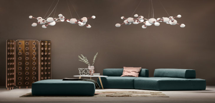 Mid-century Modern Lamps with a retro touch to met in Paris