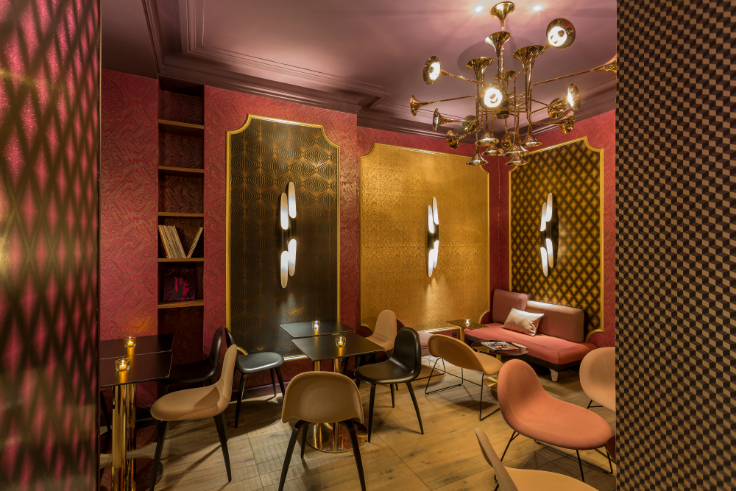 idol hotel a mid century oasis in the heart of paris mid century