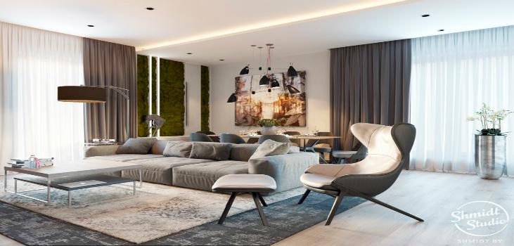Perfect Contemporary Home Design by Schmidt Studio