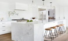 Elegant Home Design Ideas for the Fall Using Stone and Marble
