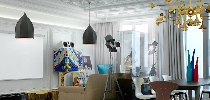 Home Design Ideas with Contemporary Lighting by Concept Buro
