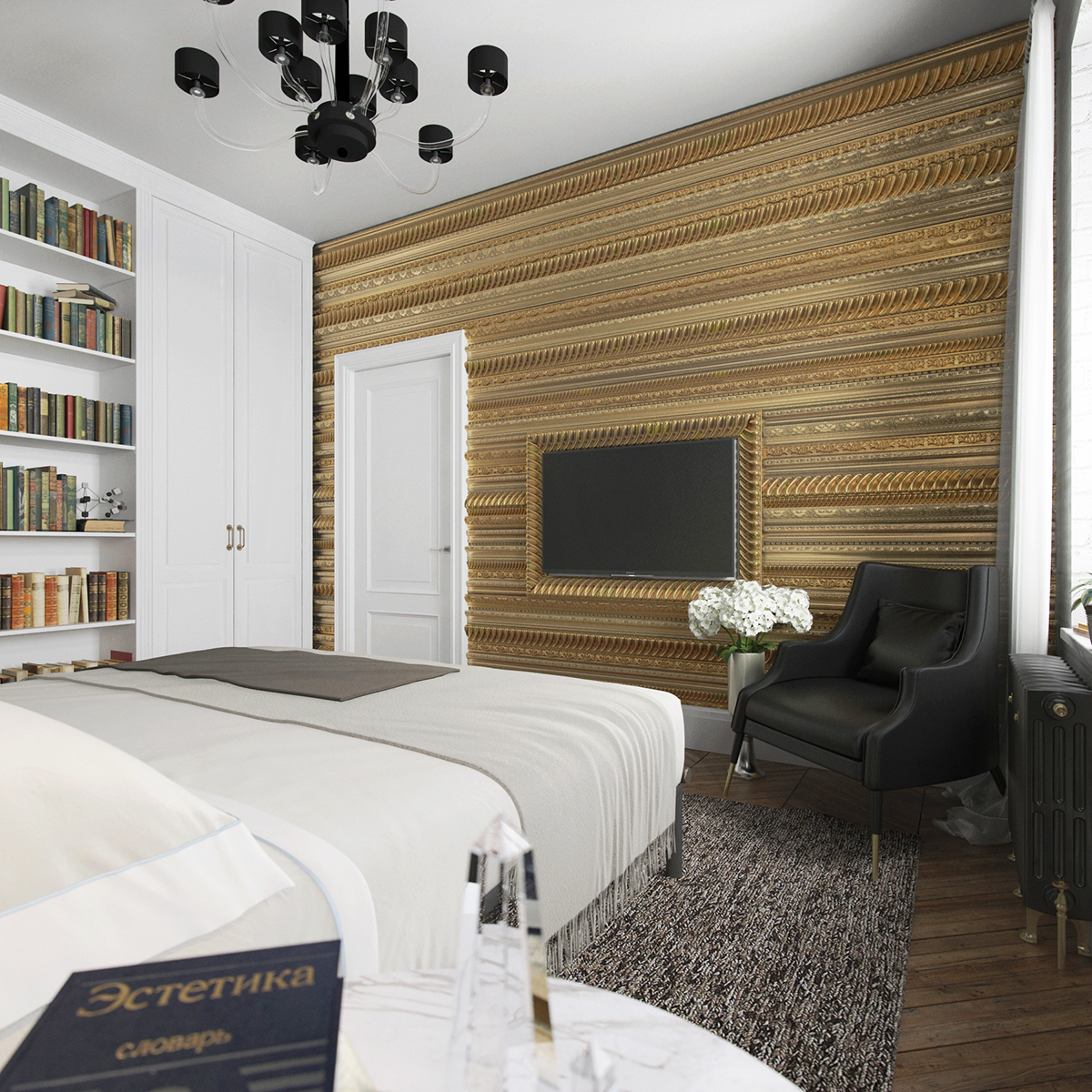 HOW STUNNING CAN A APARTMENT DESIGN BE? black apartment HOW STUNNING CAN A BLACK APARTMENT DESIGN BE? 8da74a41528775