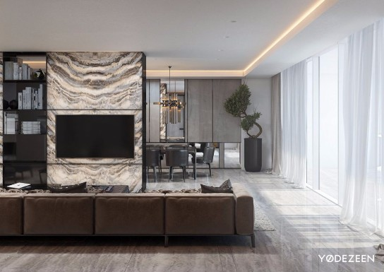 A luxurious and minimalist home design in miami by yodezeen for Minimalist house miami