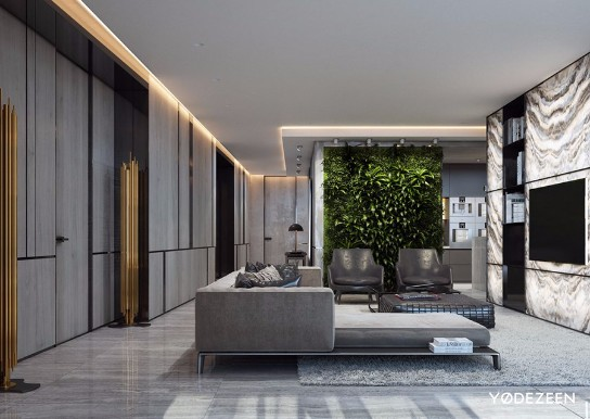 A Minimalist and Luxurious Home Design in Miami by Yodezeen