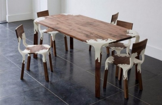 mid-century modern dining chairs