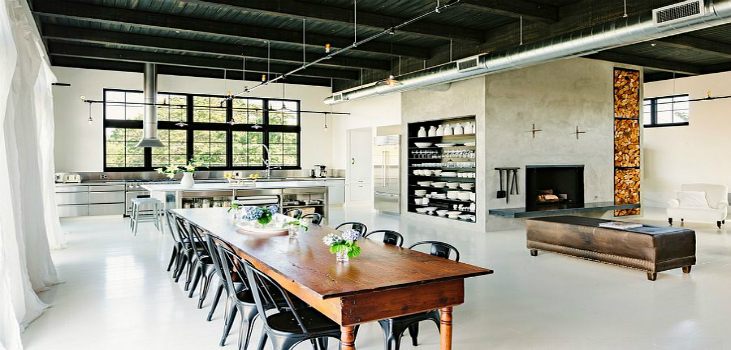 Home Design Ideas: Key Industrial Style Features