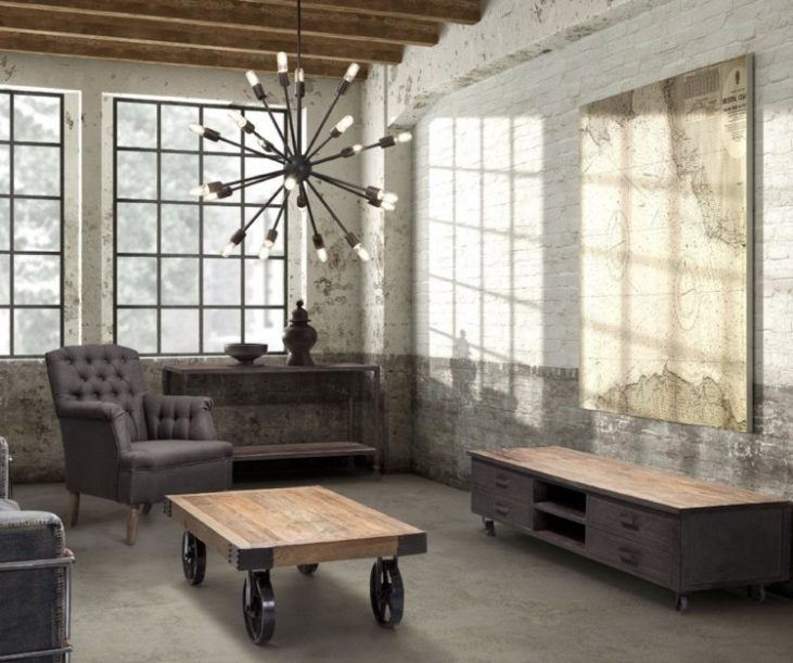 industrial style Industrial Style Interiors Using Rustic Brick Walls featured 6 e1479381655718