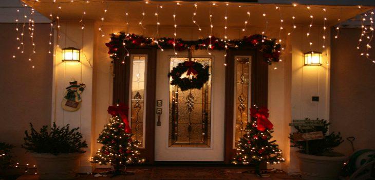 Top 10 home design ideas for christmas - Salones decorados para navidad ...