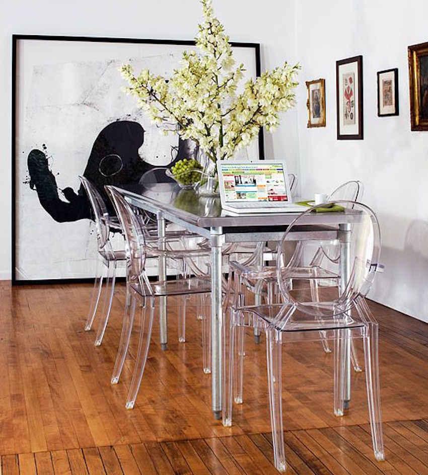 The Best Narrow Table For A Small Dining Room