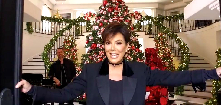 featured kris jenner 10 PHOTOS PROVING KRIS JENNER HAS THE COOLEST CHRISTMAS DECORATIONS featured 13