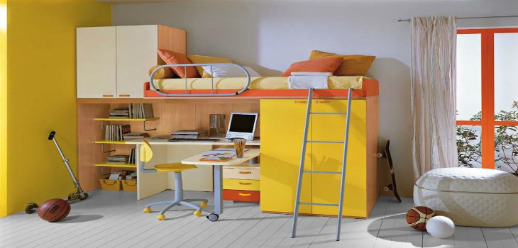 All the Best Industrial Bedroom Ideas for Your Children