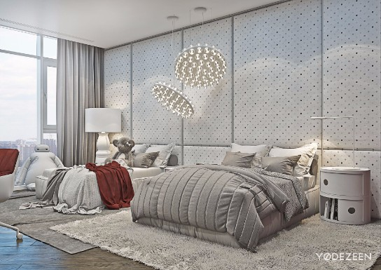 Home Design of The Week: Modern Apartment in Kiev modern apartment Home Design of The Week: Modern Apartment in Kiev Discover This Kyiv Home with Classic Features and Modern Floor Lamps 14