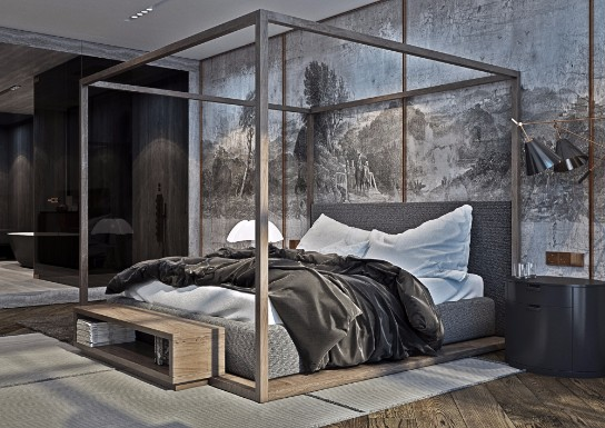Home Design of The Week: ModernApartment in Kiev modern apartment Home Design of The Week: Modern Apartment in Kiev Discover This Kyiv Home with Classic Features and Modern Floor Lamps 9