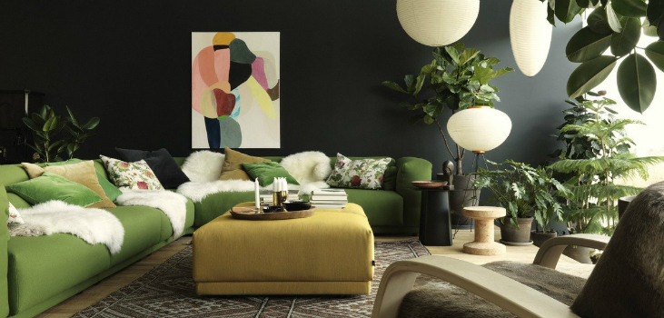 A BATCH OF THE BEST HOME DESIGN IDEAS FEATURING PANTONE'S GREENERY