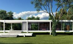 Fall in Love with Mies Van der Rohe World Known Farnsworth House