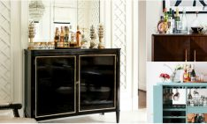 Fall in Love with These 10 Stunning Bar Cabinets