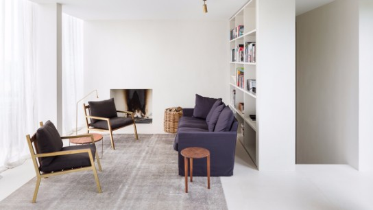 Home Makeover: Mid-Century Office Transformed Into a Modern Penthouse
