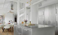 Room of the Week: Industrial Kitchen in Romantic Paris