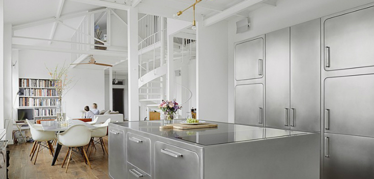 Room of the Week: Industrial Kitchen in Romantic Paris industrial kitchen Room of the Week: Industrial Kitchen in Romantic Paris Room of the Week Industrial Kitchen in Romantic Paris 7 feat