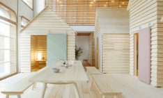 FIND OUT HOW FINNISH WOODEN CABINS CAME TO PARIS