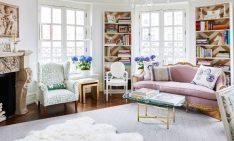 Room of the Week: Pastel Living Room in Dreamy Paris