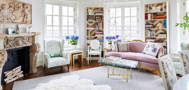 Room of the Week: Pastel Living Room in Dreamy Paris pastel living room Room of the Week: Pastel Living Room in Cosmopolitan NYC Room of the Week Pastel Living Room in Dreamy Paris 6 feat