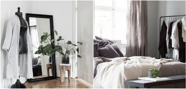 Room of the Week: White and Gray Bedroom with a Nordic Design Feeling