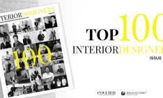 "COVETED MAGAZINE AND BOCA DO LOBO PRESENT ""TOP 100 INTERIOR DESIGNERS"""