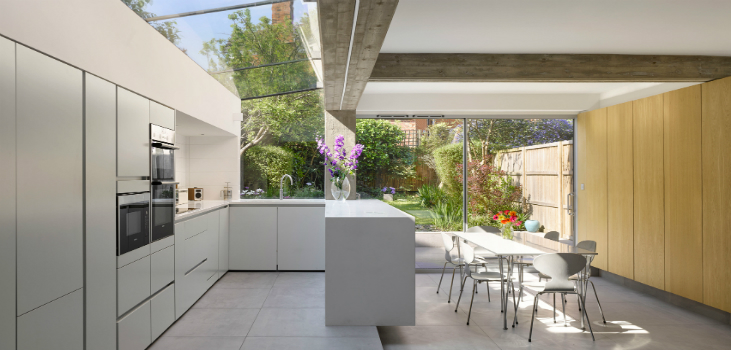 A NORTH LONDON HOUSE EXTENSION DESIGNED BY PAUL ARCHER DESGIN Paul Archer Design A NORTH LONDON HOUSE EXTENSION DESIGNED BY PAUL ARCHER DESIGN FEATURED A NORTH LONDON HOUSE EXTENSION DESIGNED BY PAUL ARCHER DESGIN