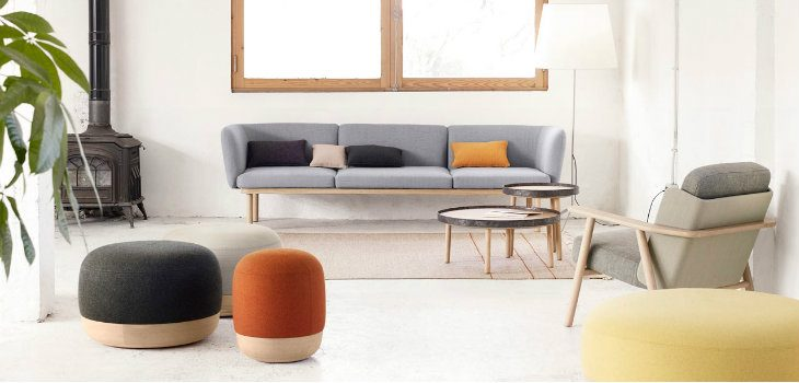 Elegant Floor Poufs for your Interior Designs