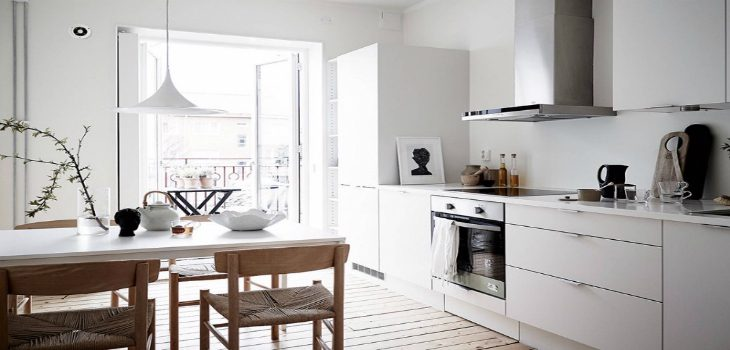 Home Tour Get to know this all white Scandinavian interior design