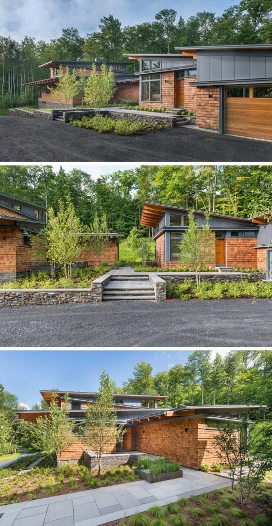 home design Contemporary Home Design with Wood Details Contemporary Home Design with Wood Details 3