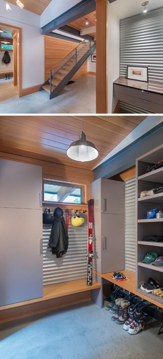 home design Contemporary Home Design with Wood Details Contemporary Home Design with Wood Details 6