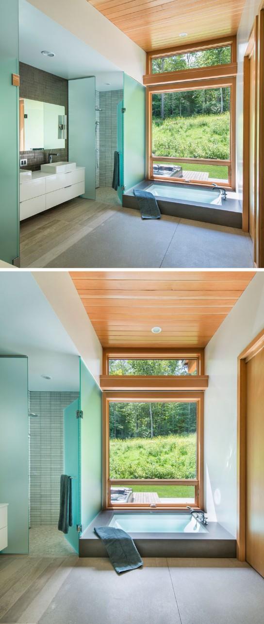 home design Contemporary Home Design with Wood Details Contemporary Home Design with Wood Details 8