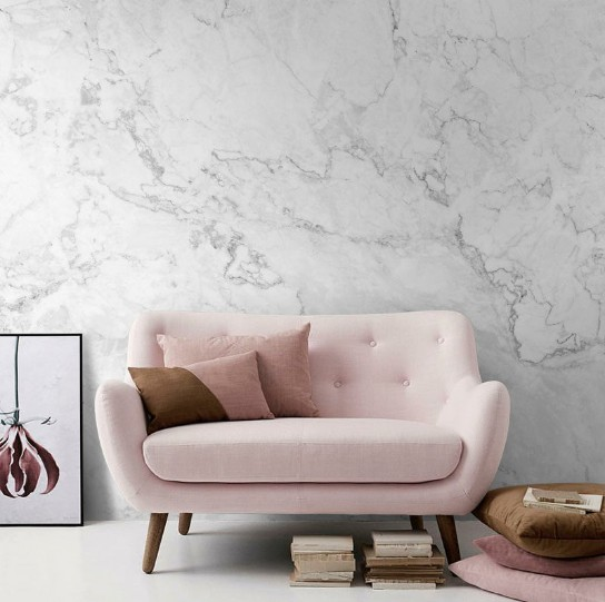 Home Decor Create Drama In Your With Marble Wallpaper