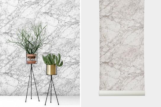 home decor Create Drama in Your Home Decor With Marble Wallpaper Create Drama in Your Home Decor With Marble Wallpaper 4