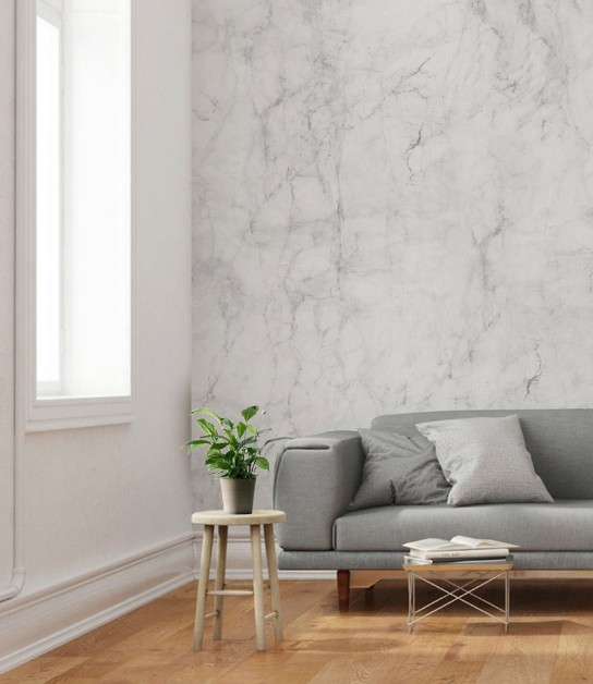 Create Drama In Your Home Decor With Marble Wallpaper