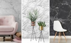 home decor Create Drama in Your Home Decor With Marble Wallpaper Create Drama in Your Home Decor With Marble Wallpaper 7 234x141