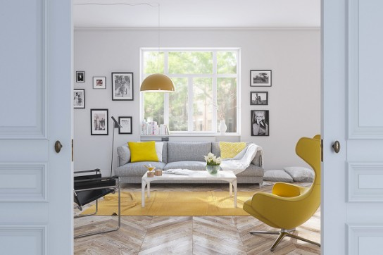 Home Design Ideas: Lemon Yellow is Always A Good Idea