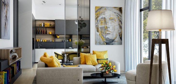 home design ideas Home Design Ideas: Lemon Yellow is Always A Good Idea Home Design Ideas Lemon Yellow is Always A Good Idea 7 730x350