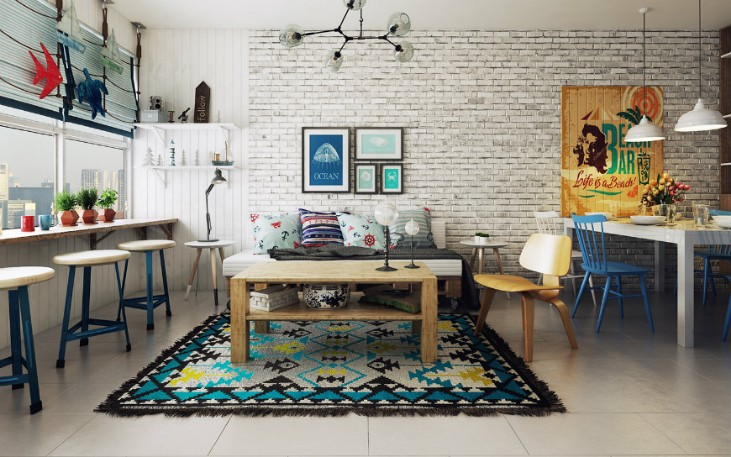 scandinavian design Discover the Colorful Side of this Scandinavian Design The Colorful Side of Scandinavian Design in a Modern Apartment 2 1