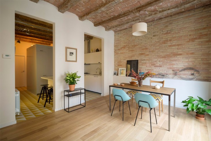 industrial style Discover this Apartment in Barcelona with an Industrial Style Discover this Apartment in Barcelona with a Industrial Style 3