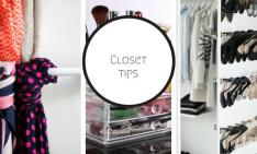 closet Get Inspired by These 5 Tips For Your Closet! Tip 234x141