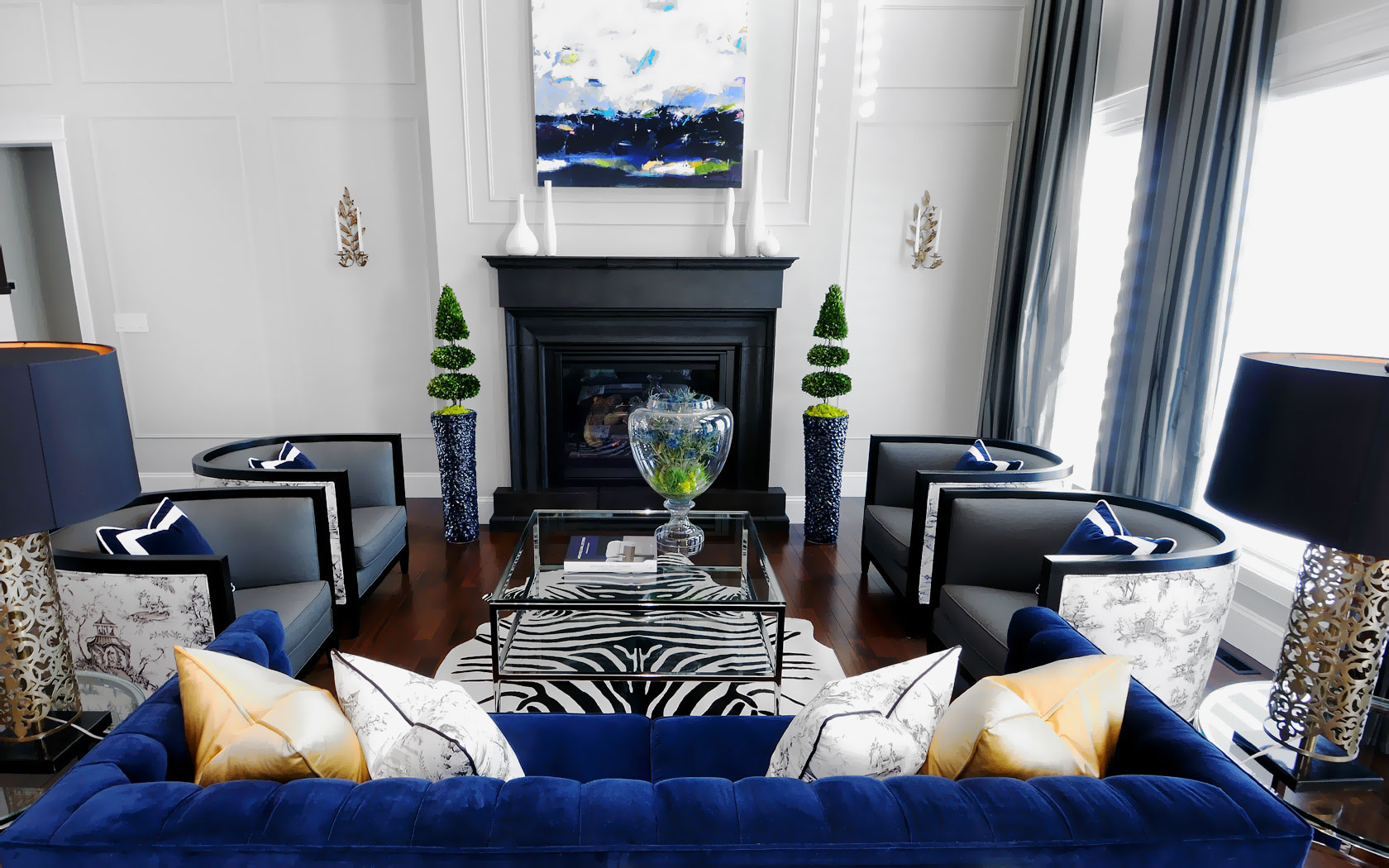 Be Dazzled By This White Room Interiors! 6